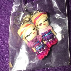 Imported doll earrings